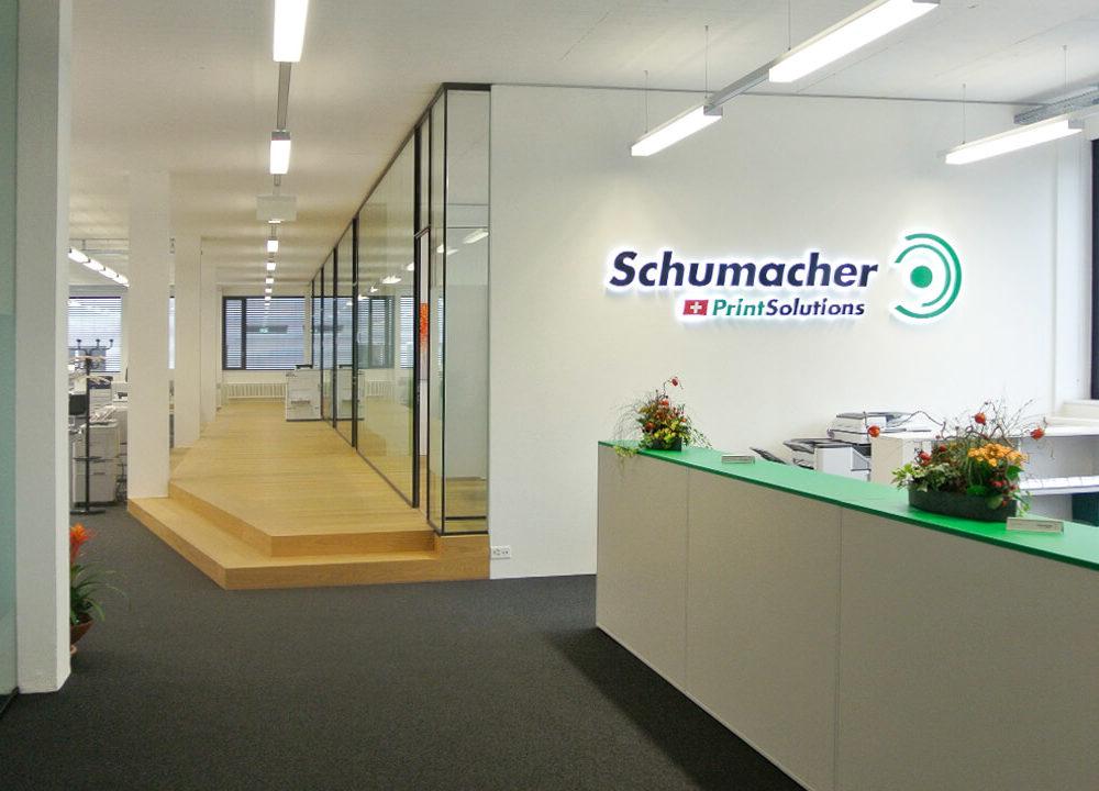 schumacher printsolutions: kompletter relaunch für die führenden schweizer printlösungen