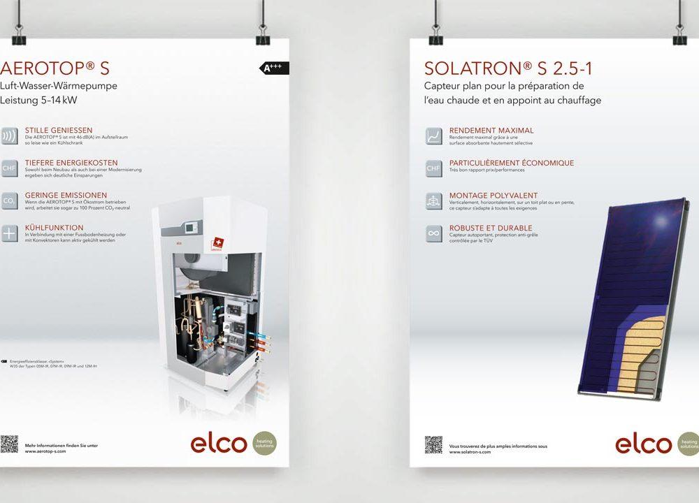 neue poster- und rollupserie für elco