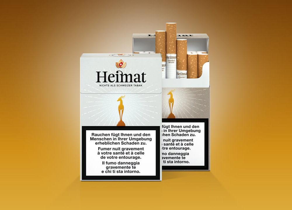 koch & gsell: erfolgreiche lancierung der heimat-zigarette
