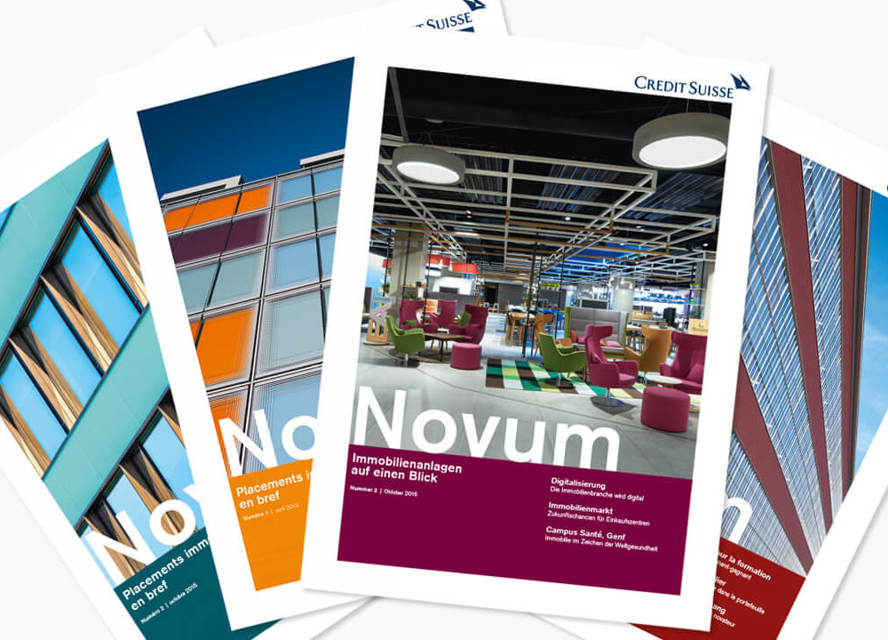 credit suisse real estate investment management: anlagemagazin «novum»