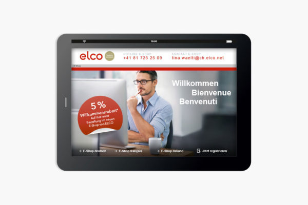 elco e-shop: einfach bequem