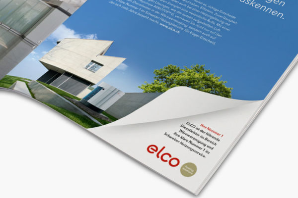 neue inserate-kampagne für elco