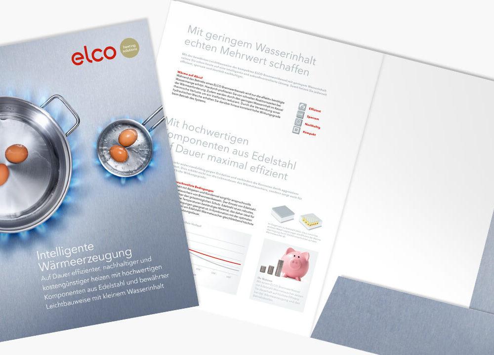 elco offertenmappen im neuen edelstahl look
