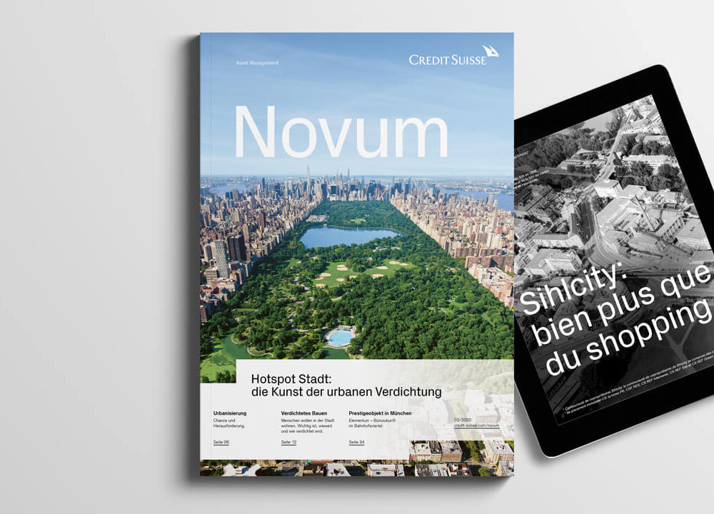 credit suisse asset management: anlagemagazin «novum» fürs global real estate