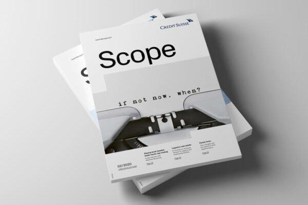 credit suisse asset management: das «scope» magazin